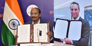 India and Australia Signed MoU for Space Collaboration