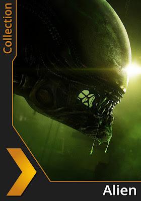 COMBO Alien Coleccion DVD HD Dual Latino 5.1 + Sub 4xDVD5