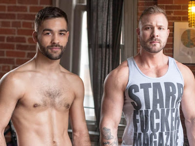 Hot Hunk Model Austin Wolf and Ian Parker