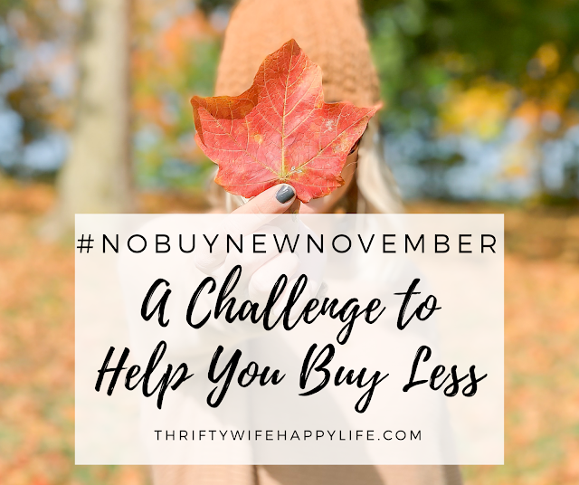 A challenge to help you spend less money