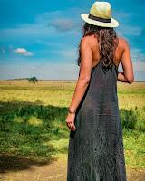 Sara MAtos vestido transparente