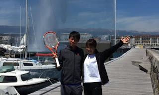 Kei Nishikori And His Wife Mai Yamauchi
