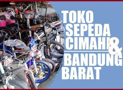 toko sepeda di bandung barat
