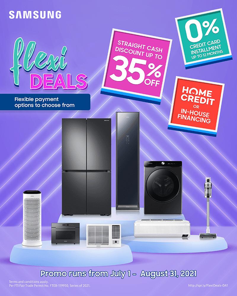 Samsung's FlexiDeals promo