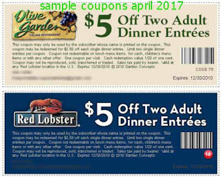 Olive Garden coupons for april 2017