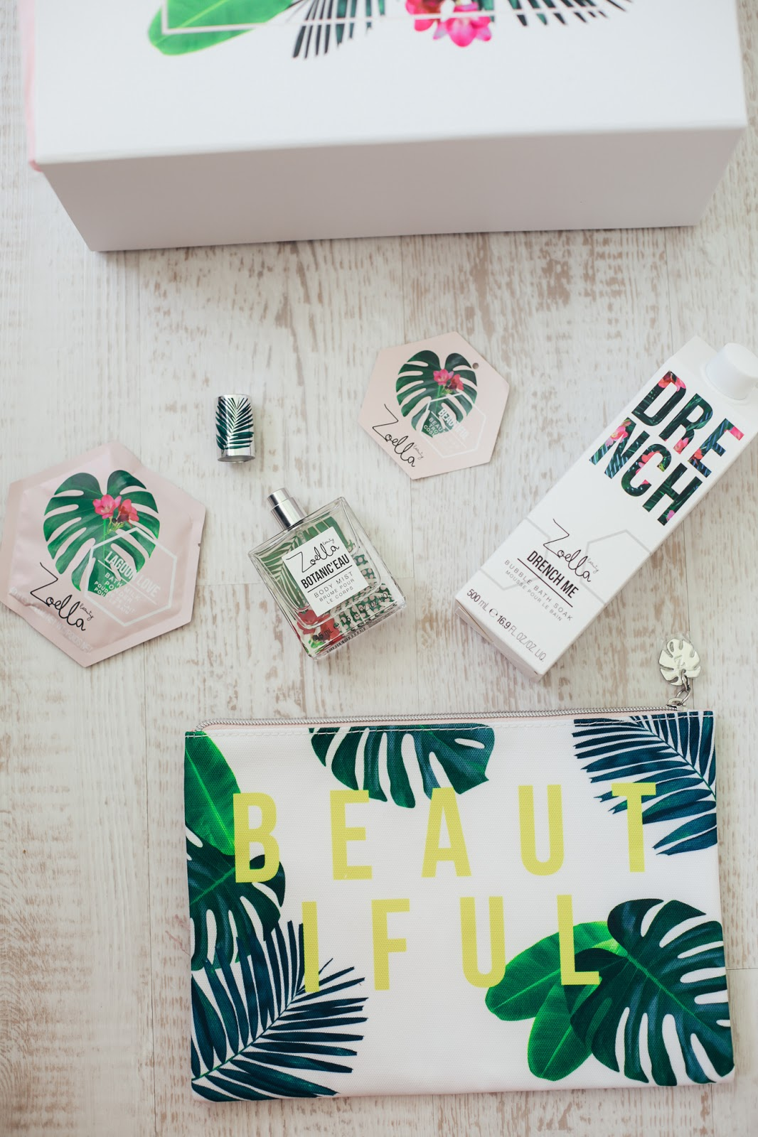 Zoella beauty splash botanics