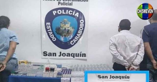 Desmantelan banda que vendía medicamentos y tratamientos adulterados