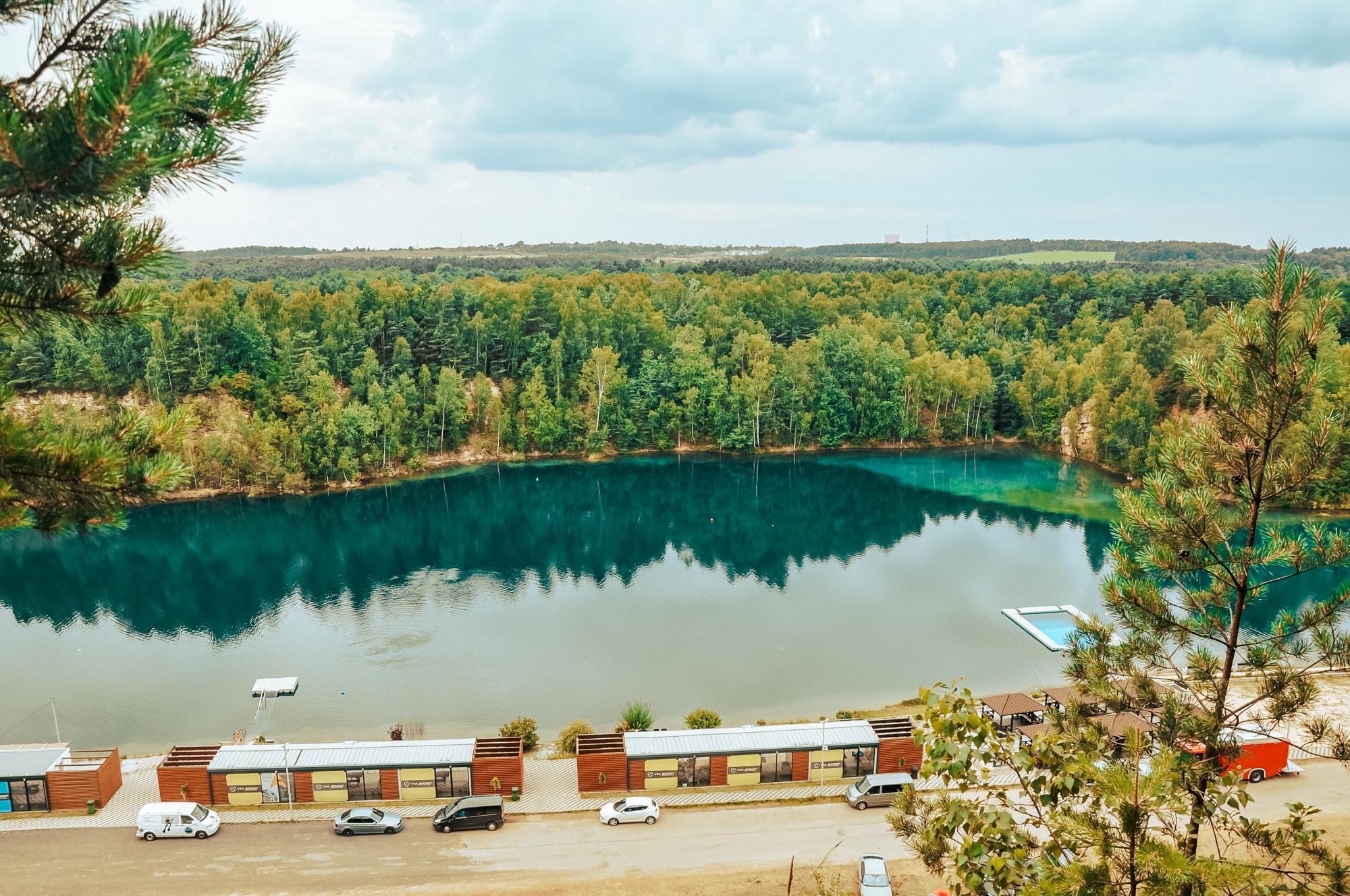 Zbiornik Orka Koparki Jaworzno - raj dla nurków