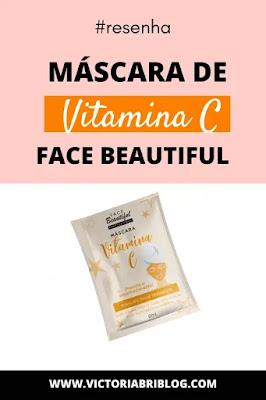 Máscara de Vitamina C Face Beautiful comprar
