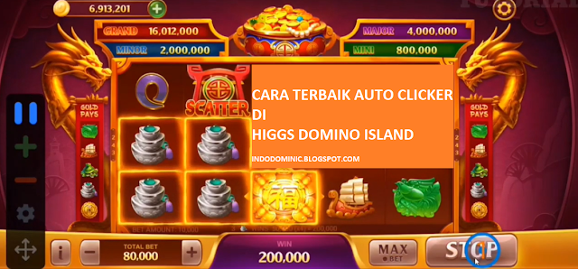 Cara Auto Clicker di Higgs Domino