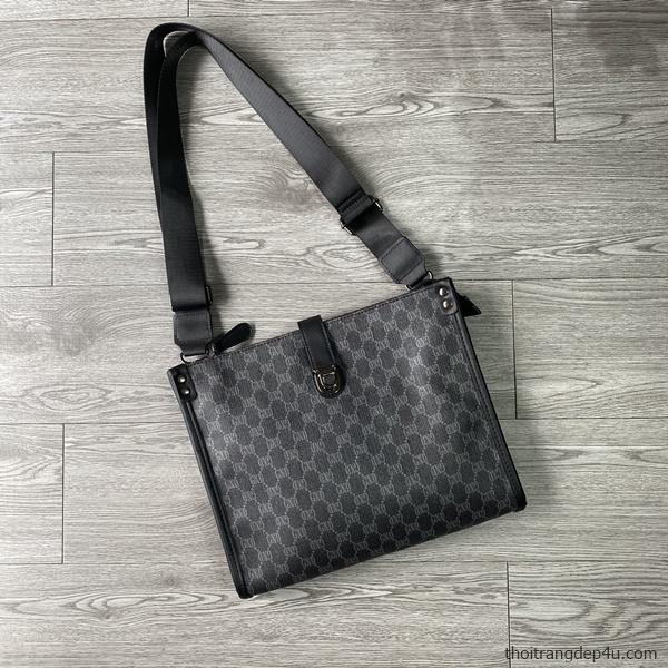 Túi đeo chéo da thời trang sang trọng họa tiết GXD độc đáo DNM027