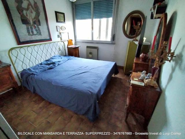 Grosseto Invest Vende - Camera del bilocale con mansarda in Viale Uranio,, Grosseto