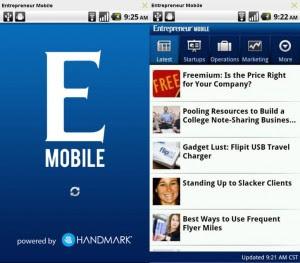 Entrepreneur Mobile - aplicación Android para emprendedores