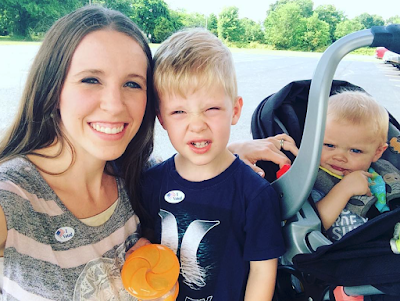 Jill (Duggar) Dillard votes with Israel Dillard and Samuel Dillard