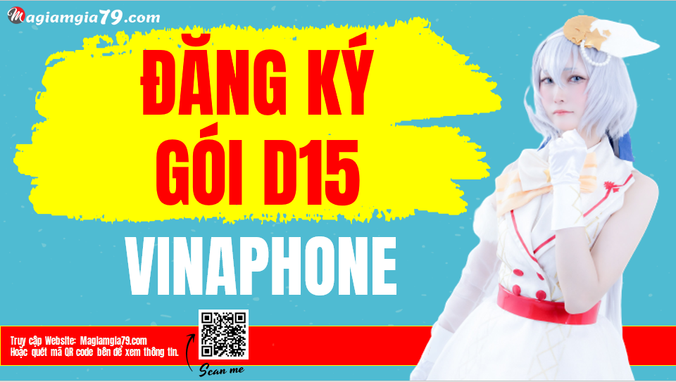 Đăng ký gói D15 Vinaphone