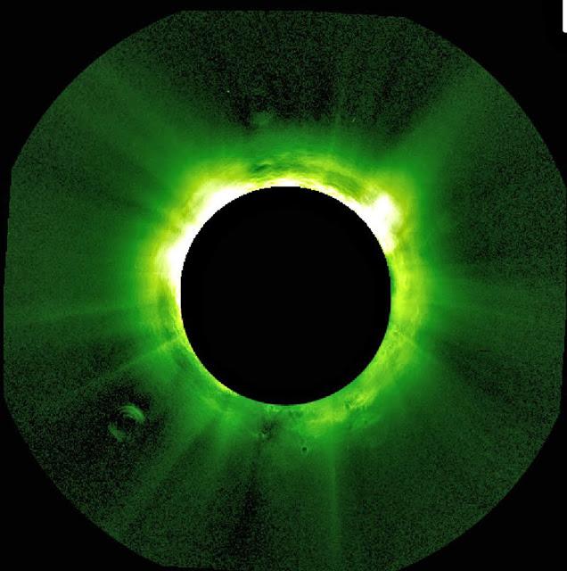 Négy gigantikus objektum a Nap körül (2013.jún.13.)