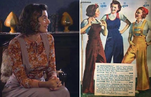 lili em eramos seis e revista de moda anos 30