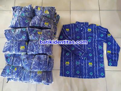 seragam batik SMP
