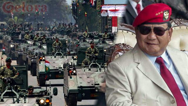 Kunjungi PT Pindad, Prabowo Ingin Pertahanan Indonesia Tak Dipandang Remeh