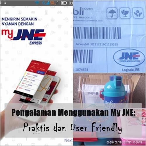 Pengalaman Menggunakan My JNE: Praktis dan User Friendly