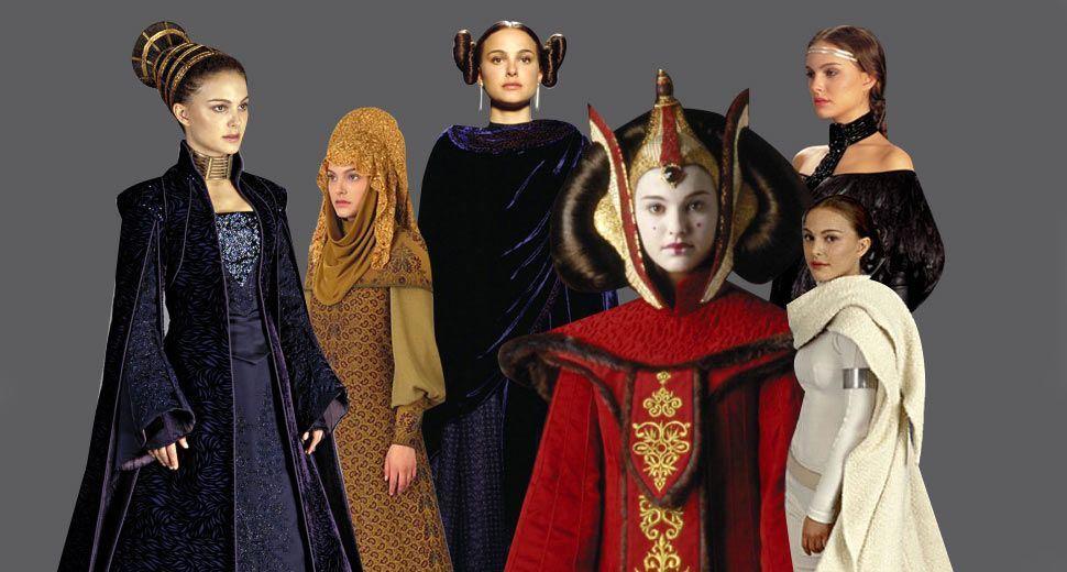Rainha Amidala - Star Wars - A Ameaça Fantasma