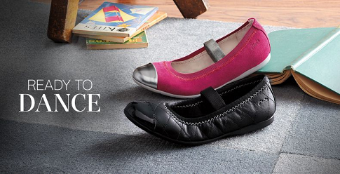 Clarks Metalic Shoes