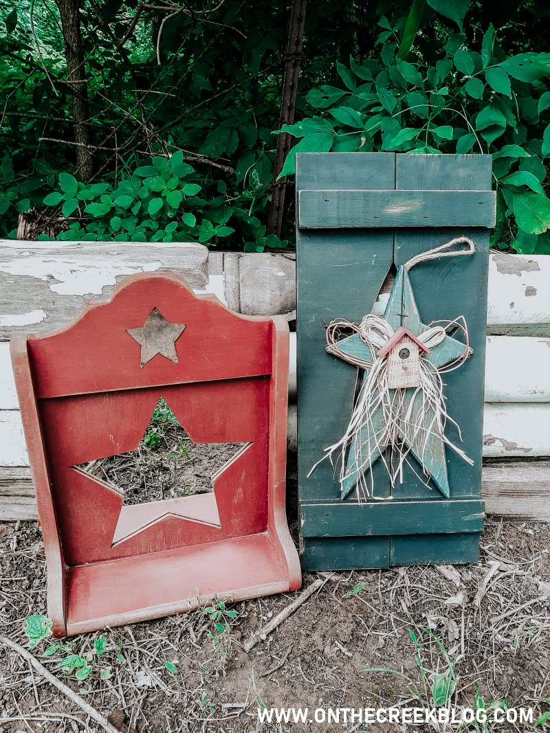 Thrifting Finds | Rustic/Primitive finds from Goodwill!