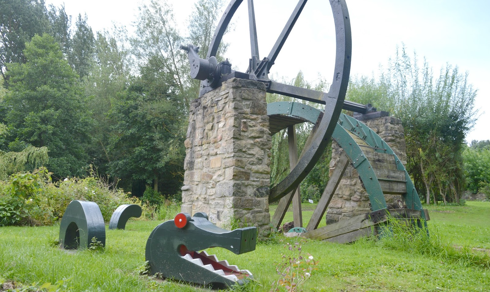 Gateshead's Great Outdoors - Exploring Path Head Water Mill - Fred the Sea Monster