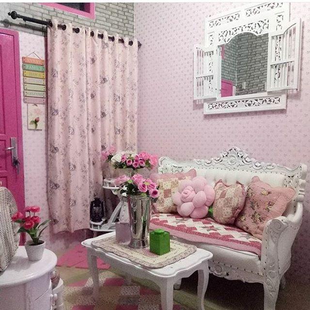 Cara Mudah Pasang Wallpaper Dinding Rumah Shabby Chic