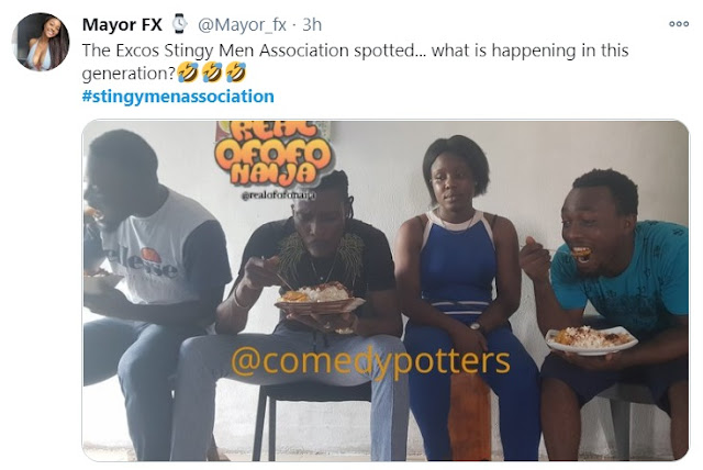 #StingyMenAssociation: Check Out Some Of The Funniest Memes From The Trend