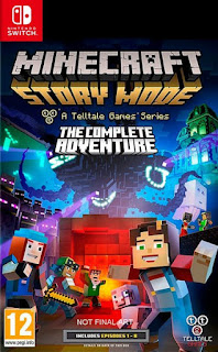 yPfgbRt - Minecraft Story Mode The Complete Adventure Switch XCI NSP