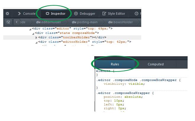 Memahani HTML dan CSS pada blog orang lain