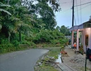 Longsor di Jaga Payung