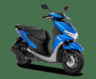 Yamaha FreeGo 125 Mettalic Blue