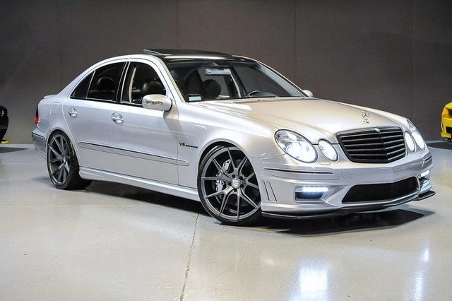 2004 Mercedes Benz W211 E55 Amg On 20 Quot Verde Axis Wheels