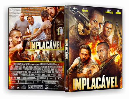 DVD Implacavel 2019.DVD-R OFICIAL