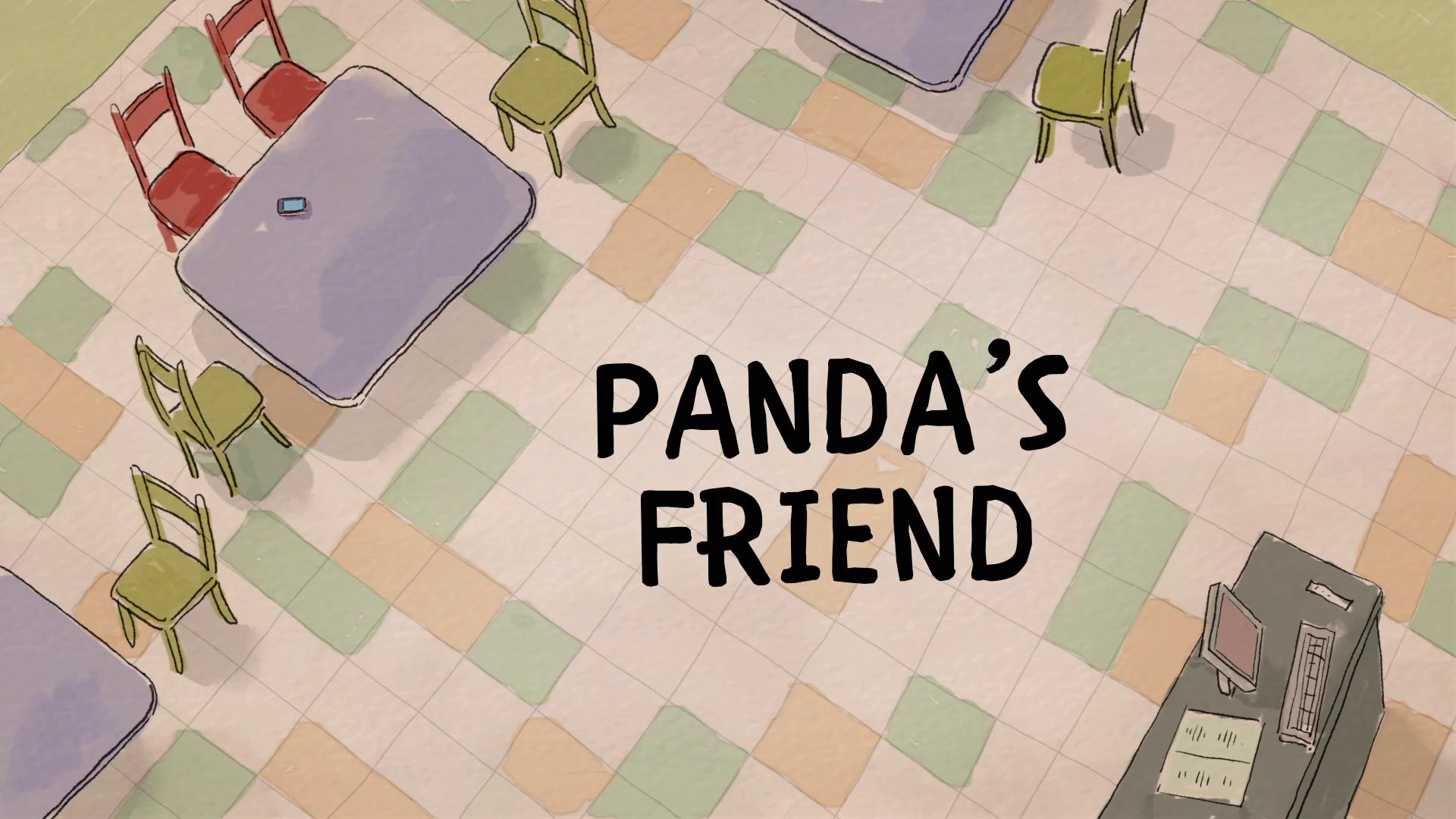 Ursos sem Curso - O Amigo do Panda