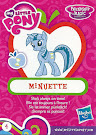 My Little Pony Wave 14 Minuette Blind Bag Card