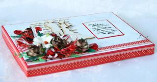 kartka ślubna, kartka w pudełku, ręcznierobiona kartka, prezent na ślub, sheaker box