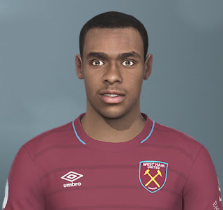 PES 2020 Faces Issa Diop by The White Demon
