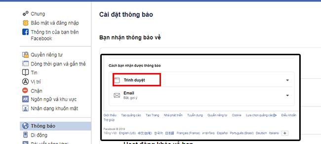 bat thong bao facebook tren chrome 2