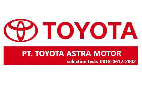 Gambar untuk Lowongan Kerja PT Toyota Astra Motor Juli 2016