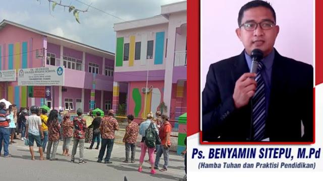 Puluhan Orangtua Demo Pendeta Cabul di Medan, Minta Pelaku Dikebiri