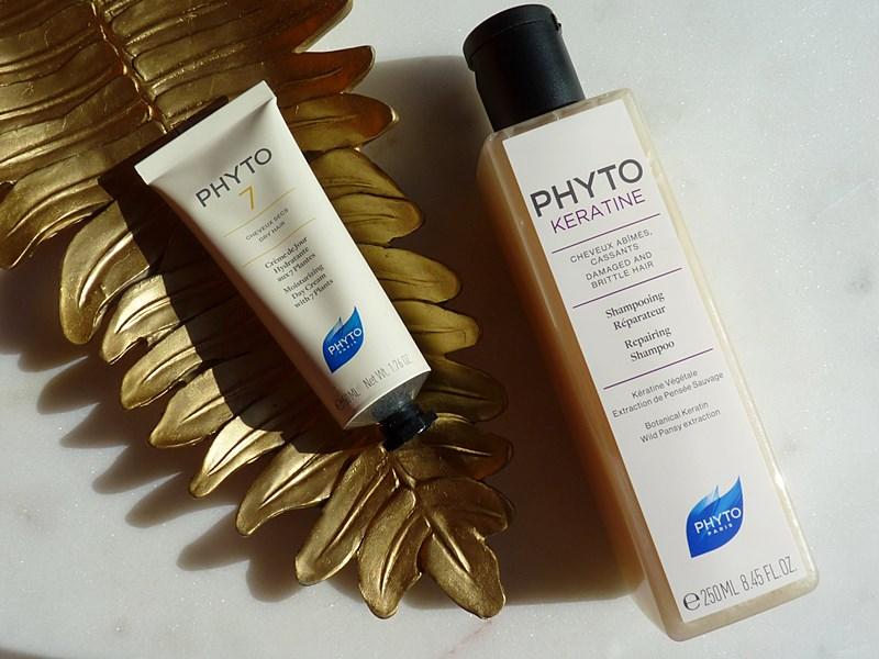 PHYTO Phytokeratine i PHYTO 7 nawilżający krem na dzień, pielęgnacja włosów z Topestetic