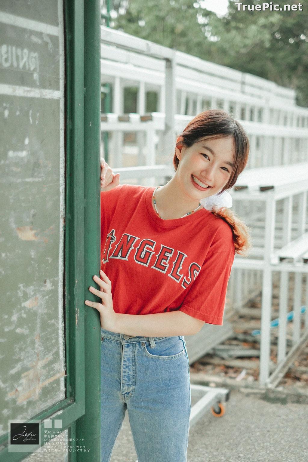 Image Thailand Cute Model - Fahfab Thunchanok - Red Angels - TruePic.net - Picture-1