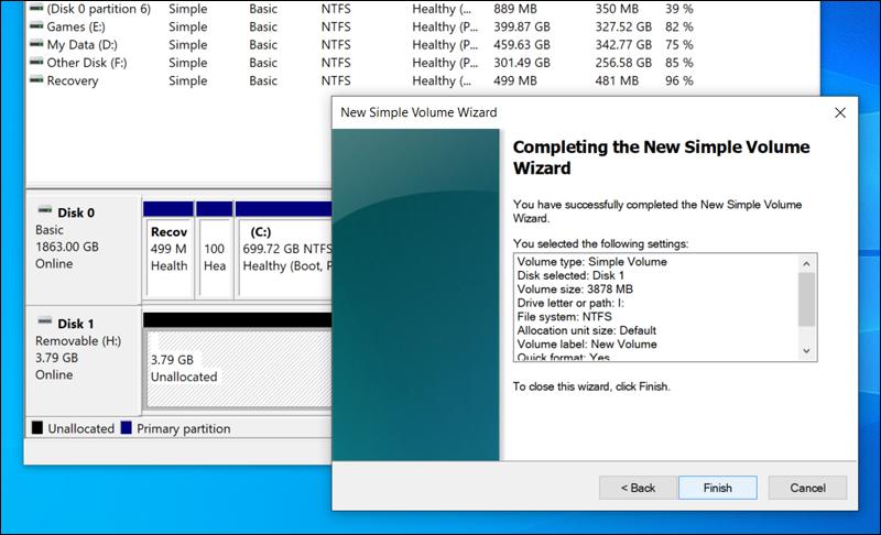 حل-مشكلة-Windows-was-unable- to-complete-the-format