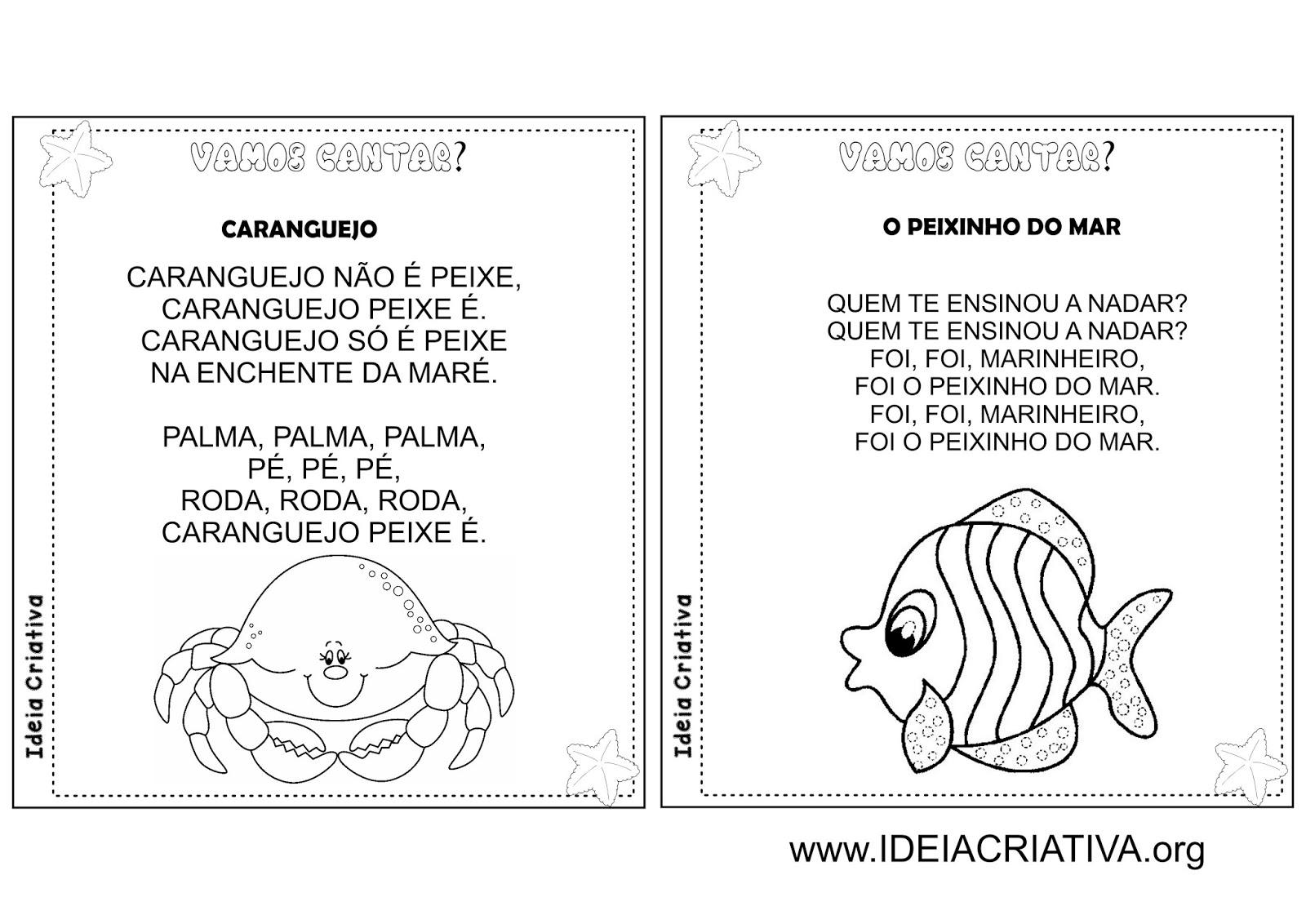 Album Ilustrado Cantigas De Roda Folclore