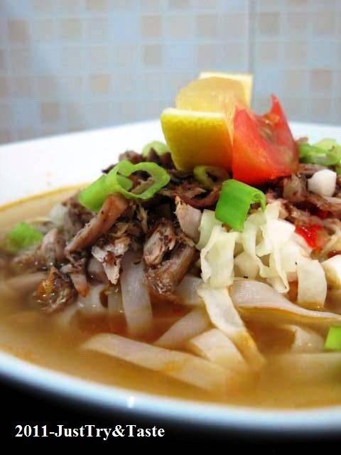 Resep Kwetiaw Kuah Ikan