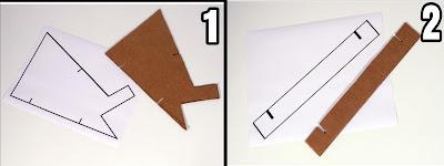 Setelah pola di print sobat gambar pola tersebut pada kardus lalu potong kardus sesuai pola