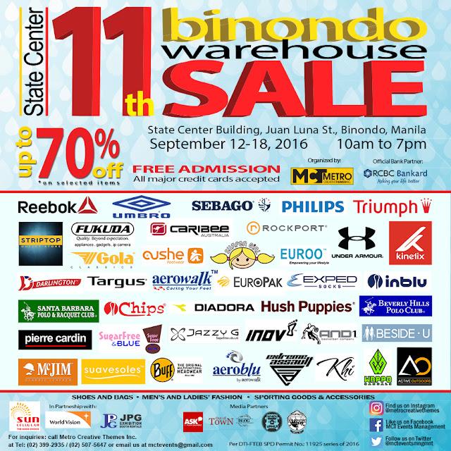 11th Binondo Warehouse Sale
